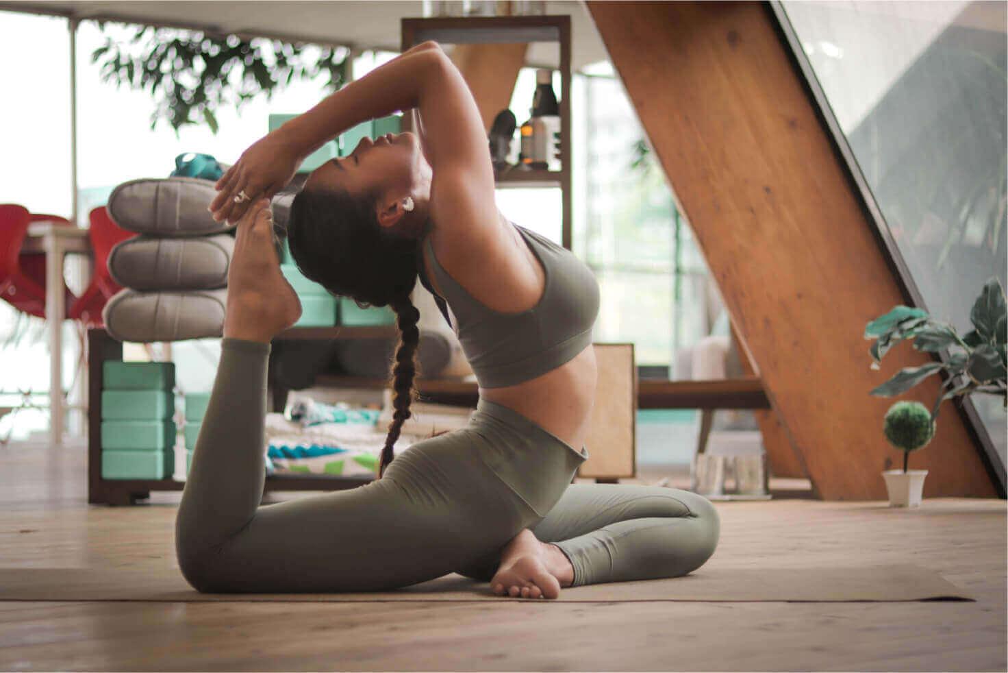 Vinyasa Yogaのレッスン風